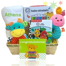 Baby Einstein Read With Me Gift Basket-New