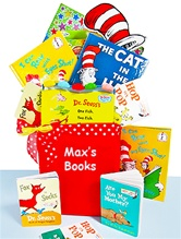 Dr. Seuss Library Basket