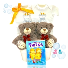 Double The Fun Twins Basket