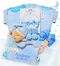 Personalized Bear Nap Time-Boy