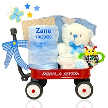 Wee Lad Baby Gift Wagon